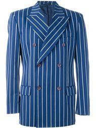 полосатый двубортный пиджак  Dolce & Gabbana Vintage