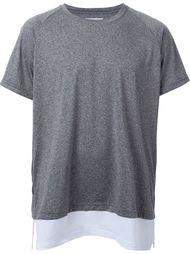 футболка с многослойным подолом Ovadia & Sons