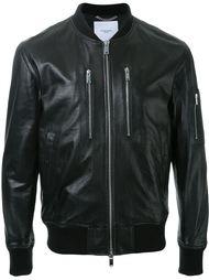 куртка-бомбер с нагрудными карманами на молнии Ovadia & Sons
