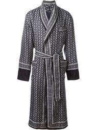 халат с принтом Dolce & Gabbana
