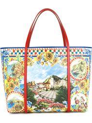 сумка-шопер 'Dauphine' с принтом  Dolce & Gabbana