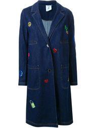 джинсовое пальто с вышивкой Steve J & Yoni P