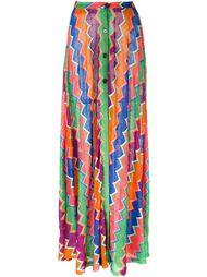 юбка макси с зигзагообразным узором  Missoni