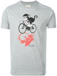 футболка с обезьяной Paul Smith Jeans