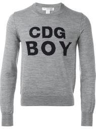 свитер с логотипом  Comme Des Garçons Shirt Boy