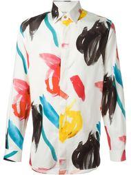 рубашка с разноцветным принтом Paul Smith