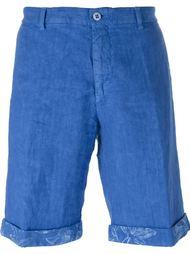 шорты с цветочным узором  Etro