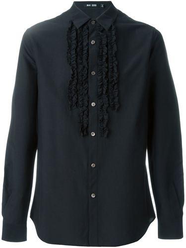 рубашка с оборками  Blk Dnm