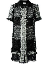 твидовое платье Lanvin