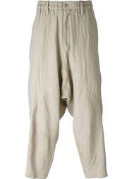 свободные брюки  Yohji Yamamoto