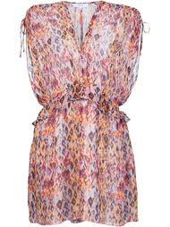 floral print ruffle waist dress Iro