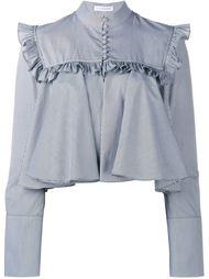 укороченная блузка с оборками J.W. Anderson
