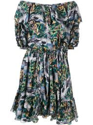 платье с открытыми плечами Faith Connexion