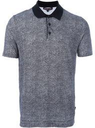 футболка-поло с контрастным воротником Michael Kors