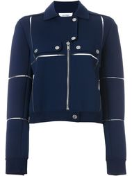 panelled biker jacket  Courrèges