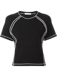 футболка с контрастной строчкой J.W. Anderson