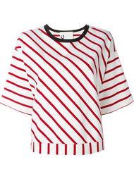 полосатая футболка мешковатого кроя 8pm
