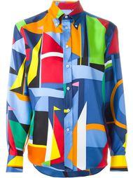 рубашка с принтом  Ralph Lauren Black