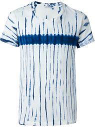 "футболка с узором ""тай-дай"" Blue Blue Japan"