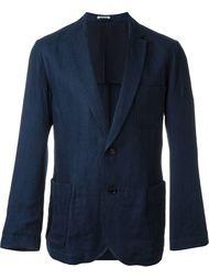 однобортный пиджак  Blue Blue Japan