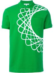 футболка-поло с принтом  Carven