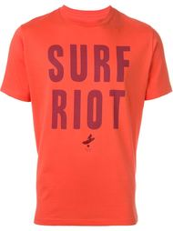 футболка 'Surf Riot'  Paul Smith Red Ear
