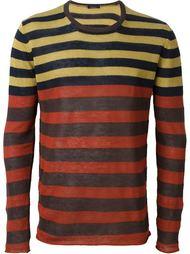 полосатый свитер Roberto Collina