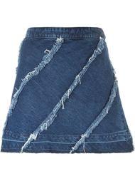 джинсовая юбка  Christian Pellizzari