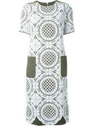 кружевное платье на молнии  Marco Bologna