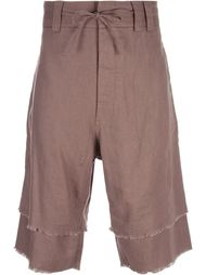 contrast hem bermuda shorts Chapter