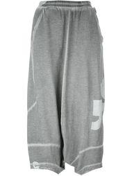 укороченные брюки с заниженной шаговой линией  Rundholz