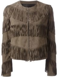 пиджак с бахромой Drome