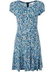расклешенное платье с мелким цветочным узором Michael Michael Kors