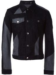 джинсовая куртка с панельным дизайном  Blk Dnm