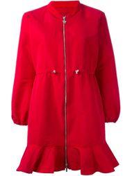 пальто на молнии с логотипом Moncler Gamme Rouge
