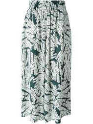 брюки с абстрактным принтом Cédric Charlier