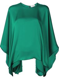 bat sleeve drape blouse Maison Rabih Kayrouz