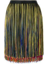 мини-юбка с бахромой Christopher Kane