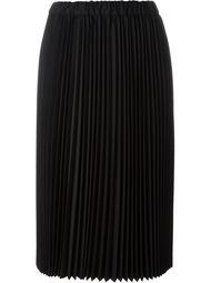 плиссированная юбка средней длины Comme Des Garçons