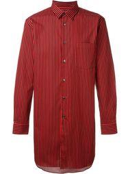 полосатая удлиненная рубашка  Comme Des Garçons Homme Plus