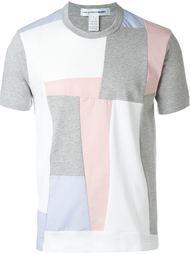 футболка с лоскутным узором Comme Des Garçons Shirt