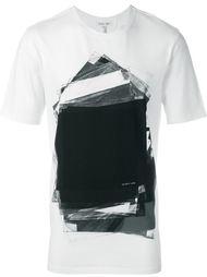 футболка с абстрактным принтом Helmut Lang