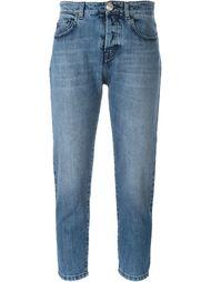 укороченные джинсы-бойфренд  Nº21