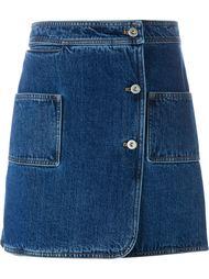 джинсовая юбка  Courrèges