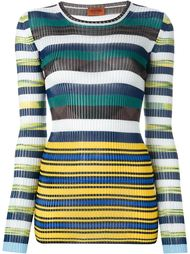 striped knitted top Missoni