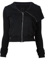 'Cropped Mountain' hoodie Rick Owens DRKSHDW
