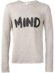 """толстовка с принтом """"mind""""  Comme Des Garçons Shirt"""