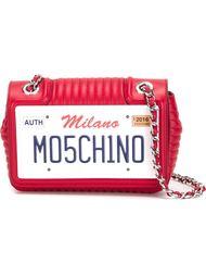 сумка на плечо с аппликацией с логотипом Moschino