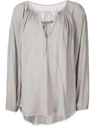 'Shirred' blouse Raquel Allegra