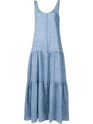 платье с застежкой на пуговицы Lisa Marie Fernandez